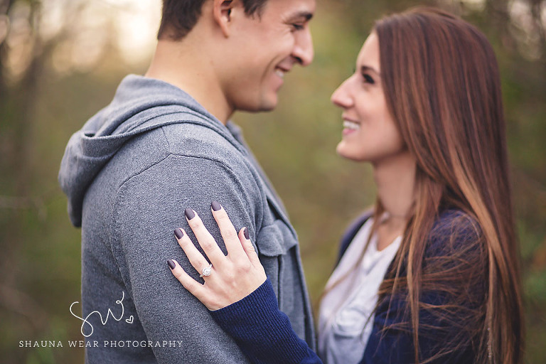 Detroit Fall Engagement Session 2
