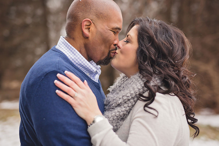 Detroit winter engagement 4
