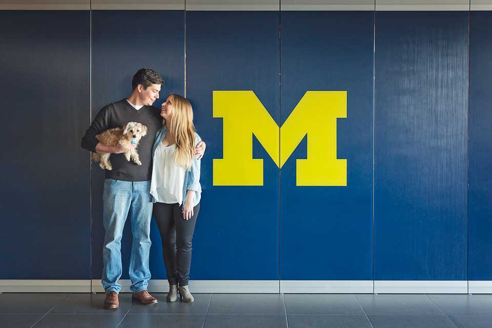 University of Michigan Engagement Session (1)