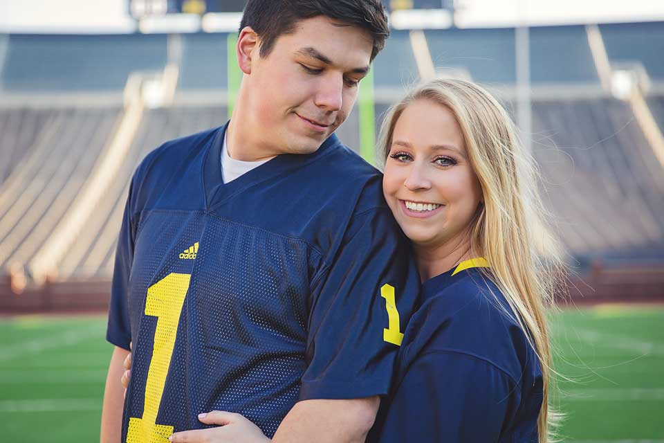 University of Michigan Engagement Session (4)