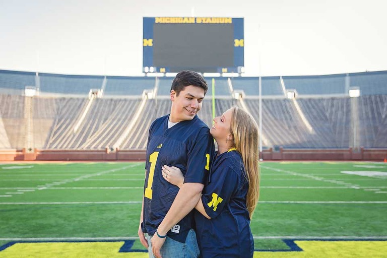 University of Michigan Engagement Session (5)